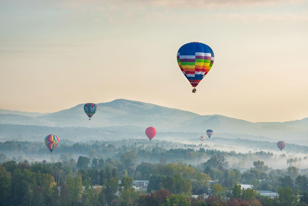 Adirondack Balloon Festival, Sunday morning