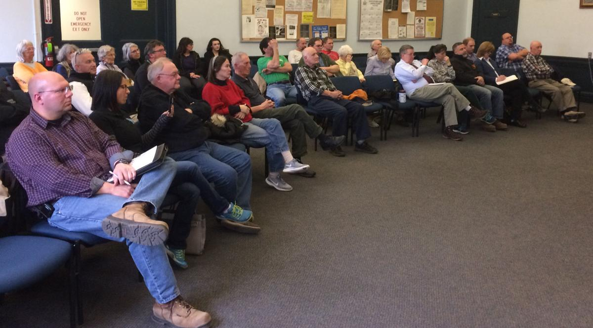 Residents attend meeting on homeless housing project