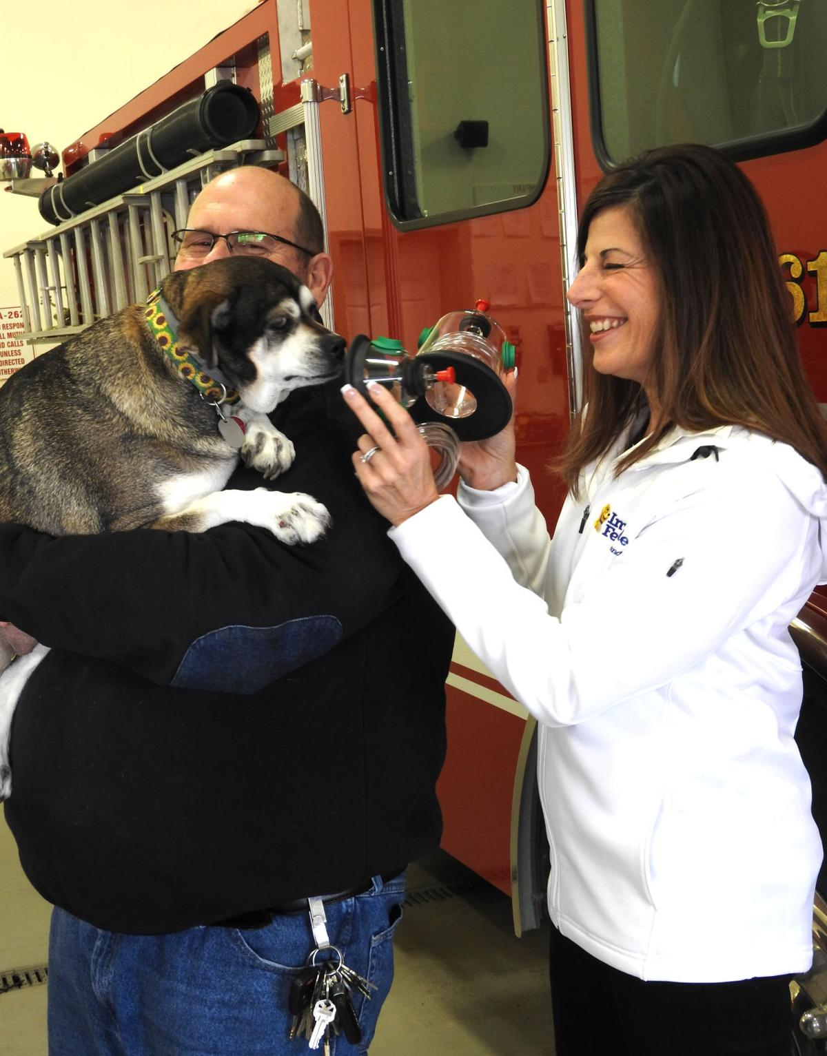 Fort Ann Fire Company Gets Masks For Pets Local