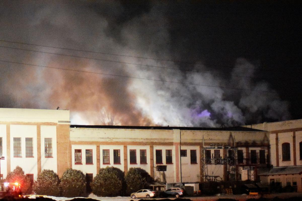 Flames rip through South Glens Falls complex