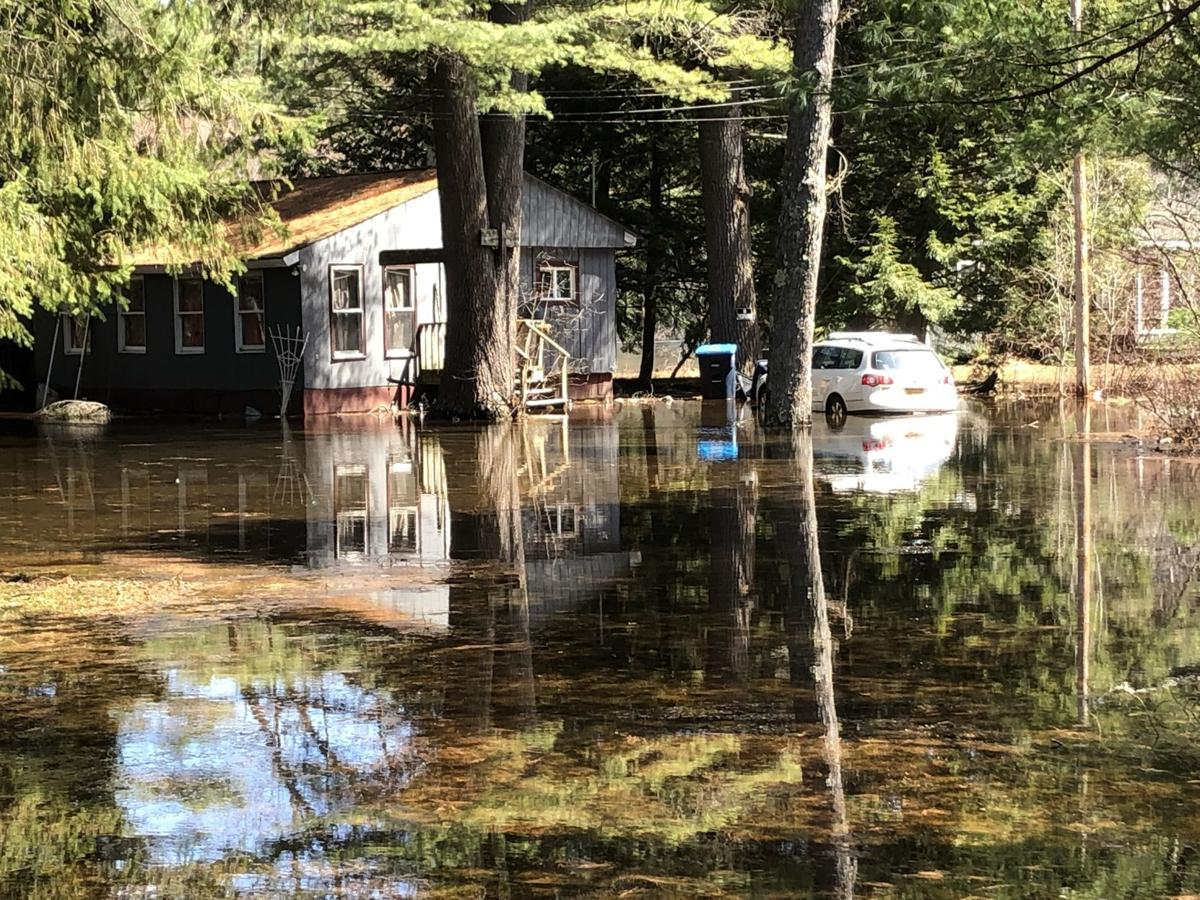 Schroon River flooding