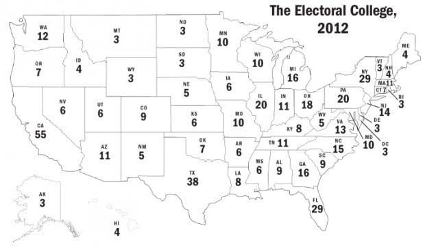 EDITORIAL: Electoral College map no longer makes sense