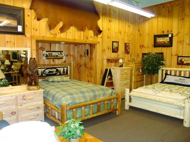 Bare Bones Furniture Adirondack Theme