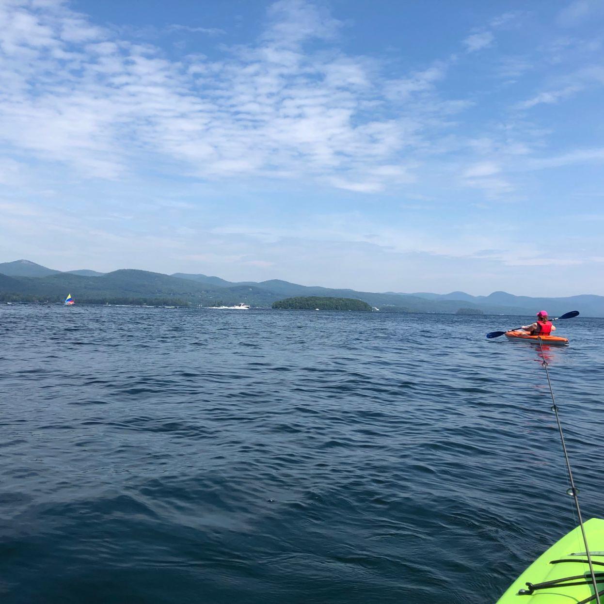 Man seriously hurt after boat renter hits kayak on Lake