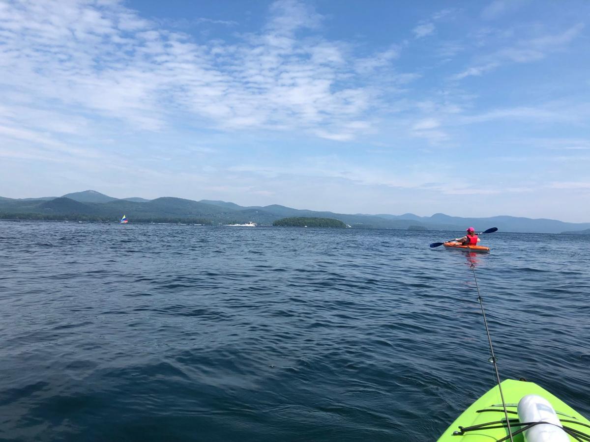 Lake George kayaks