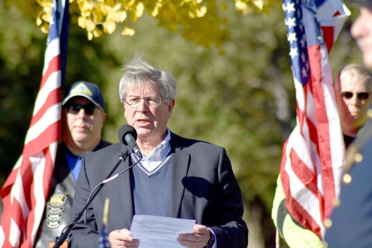 Town Supervisor John Strough