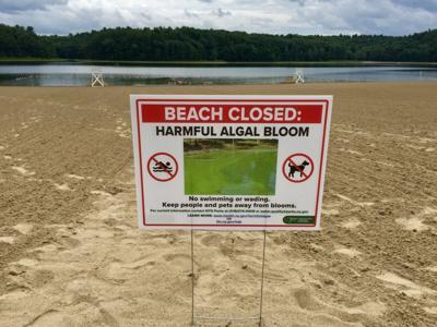 Moreau Lake State Park beach closure