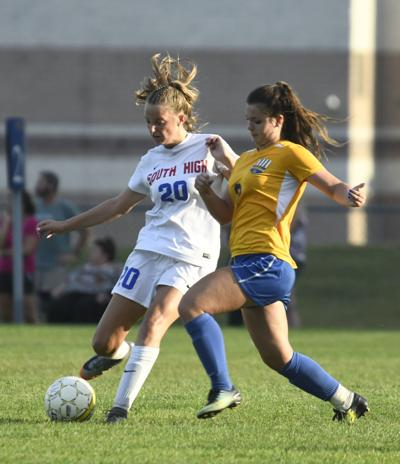 Queensbury vs. South High girls soccer
