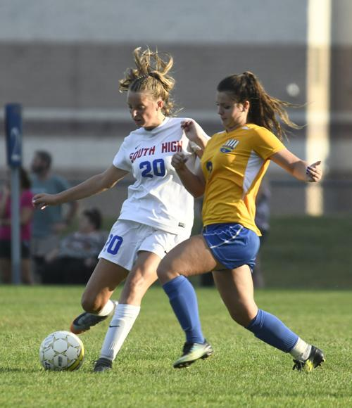 Queensbury vs. South High girls soccer