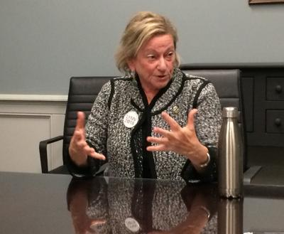 NY-21 Green Party candidate talks to editorial board