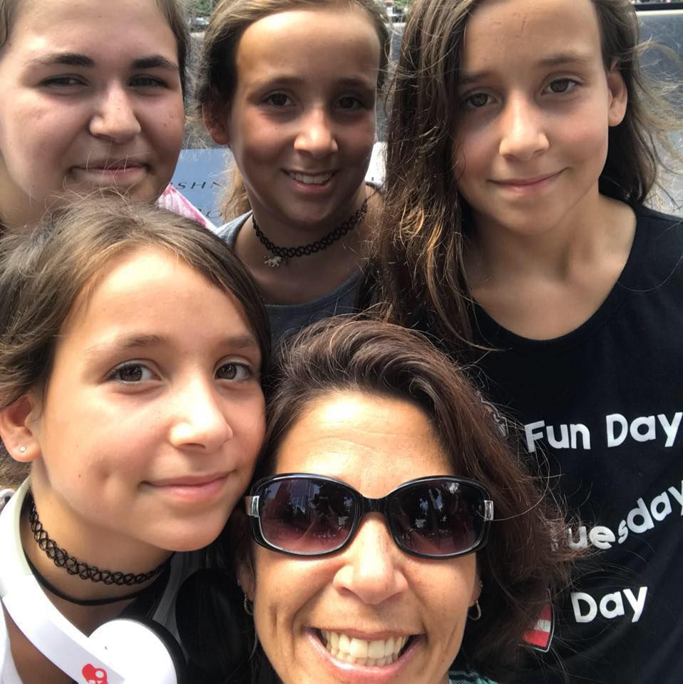 Charlene Orsi and children
