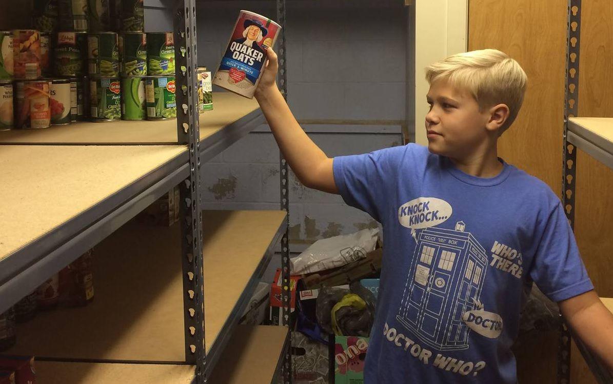 Fort Ann food drive