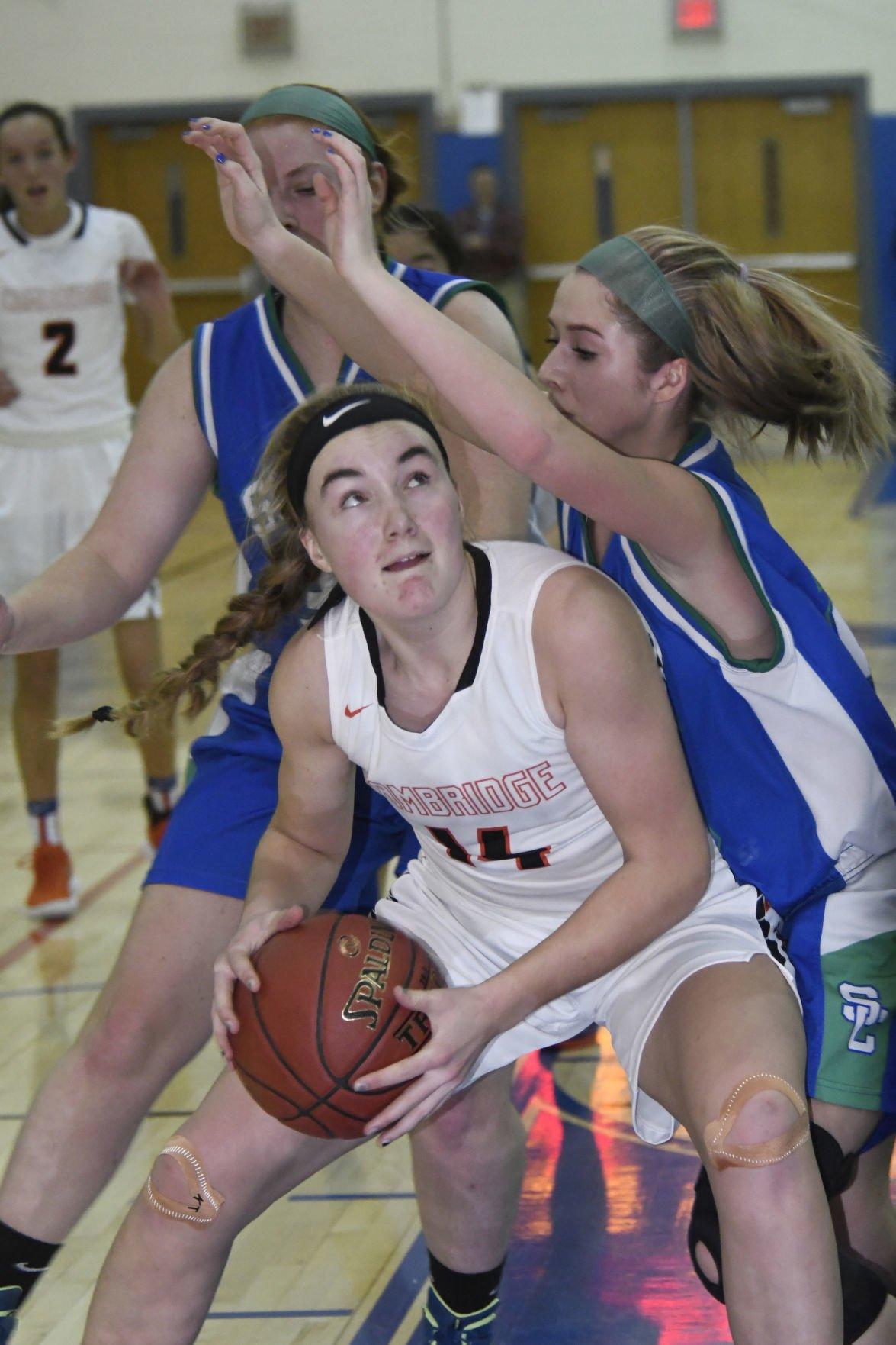 Cambridge vs. Seton Catholic girls basketball