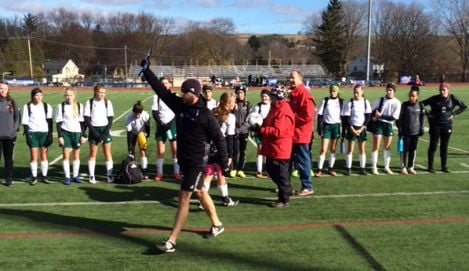State girls soccer semifinals
