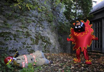 Flames mascot