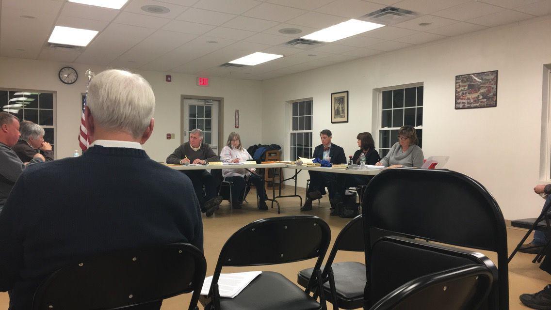 Fort Ann Town Board meeting