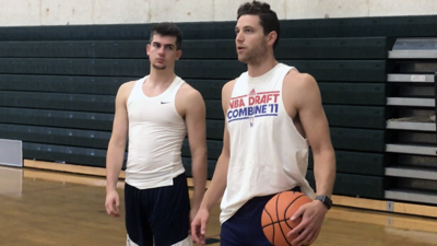 Jimmer Fredette and Girard III workout