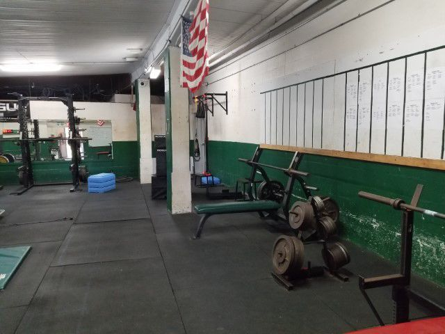Outdated weight room