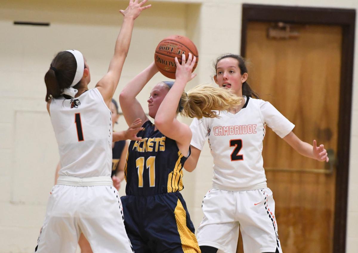 Girls basketball: Cambridge vs. Madrid-Waddington