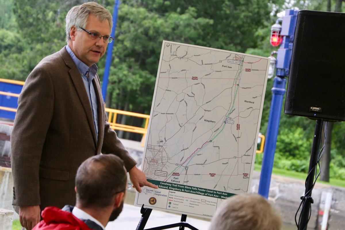 Champlain Canalway Trail groundbreaking