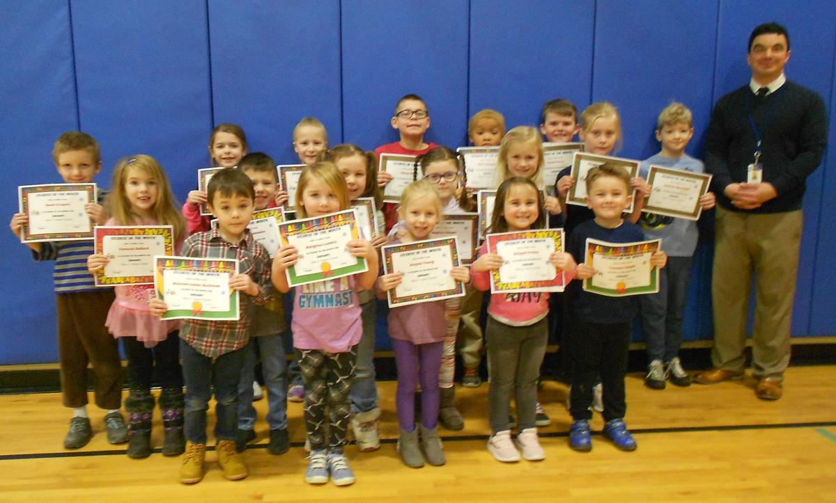 Mary J. Tanner School names Students of the Month