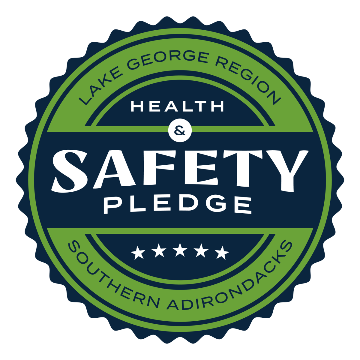 Green Safety Badge