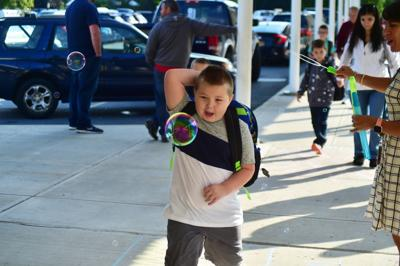 First day of school at Hudson Falls Primary