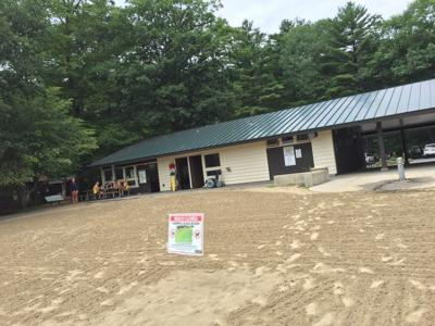 Moreau Lake State Park beach closure