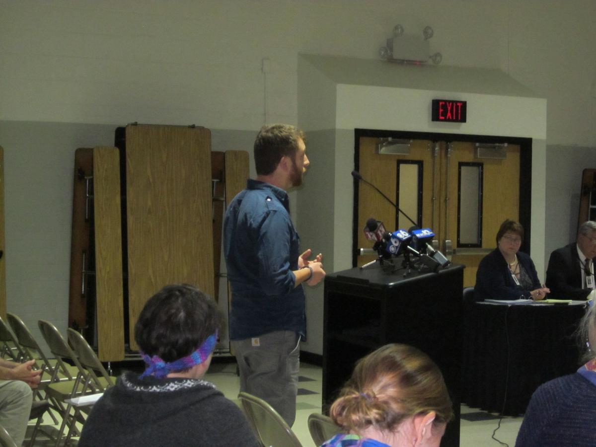Cambridge school board meeting