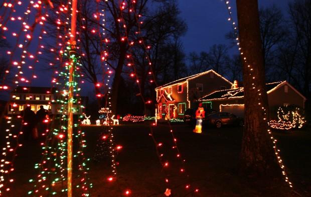 Hi-tech Christmas lights