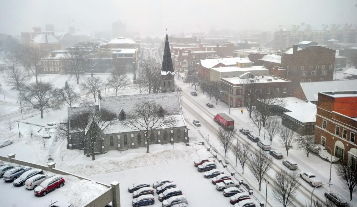 Snow-eye view