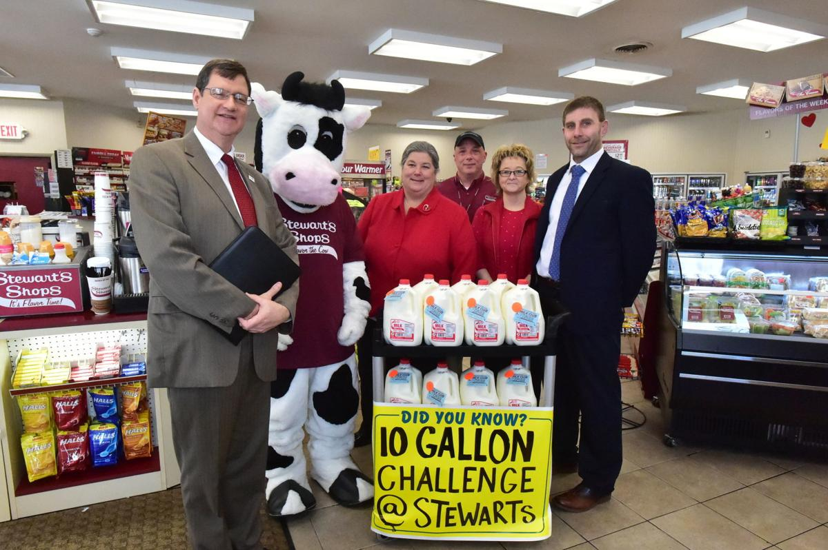 10 gallon challenge taken by Assemblywoman and BOCES Superintendent