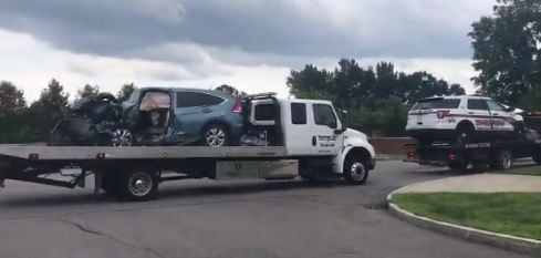 Vehicles from crash