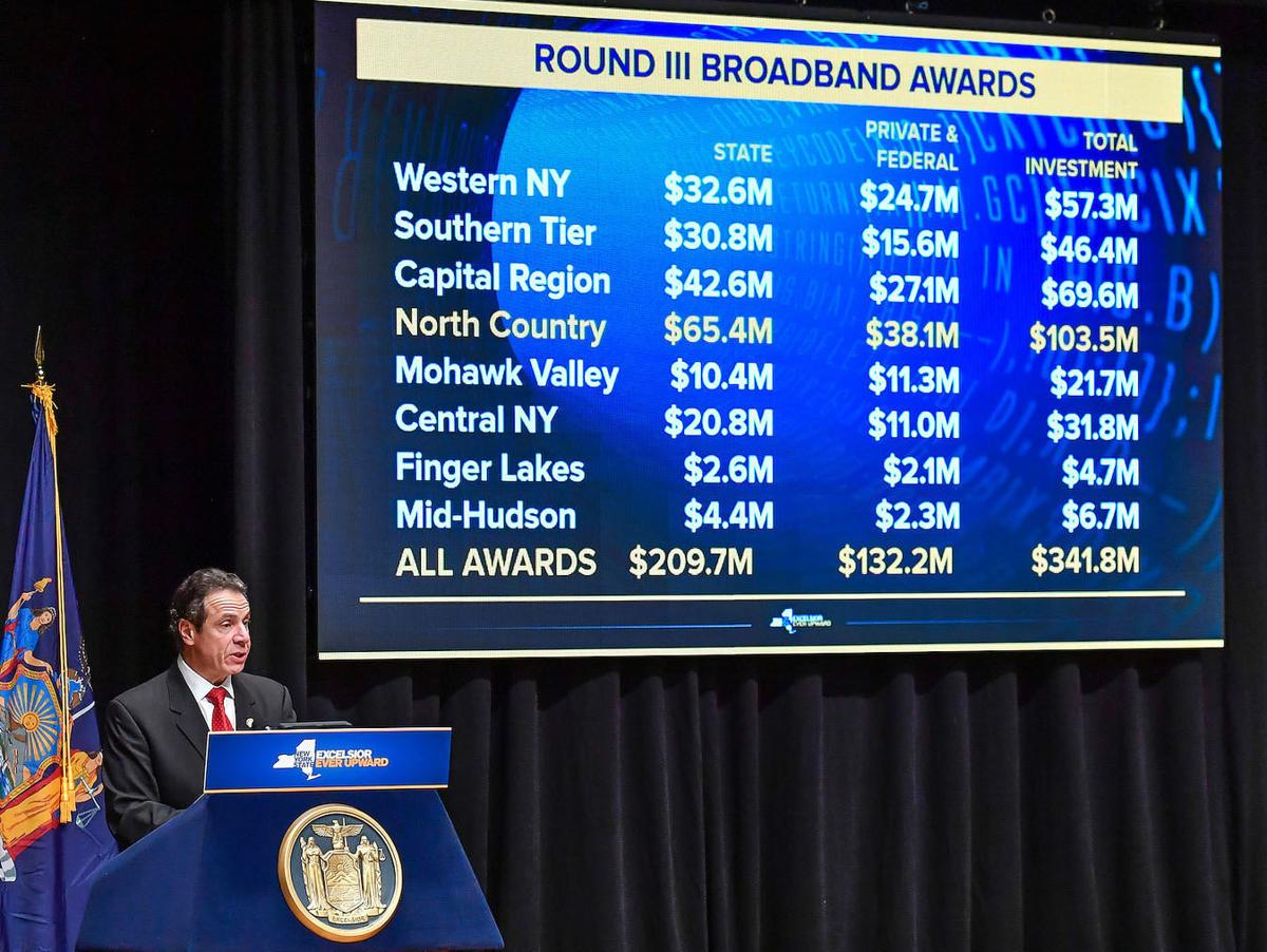 Broadband funding for North Country