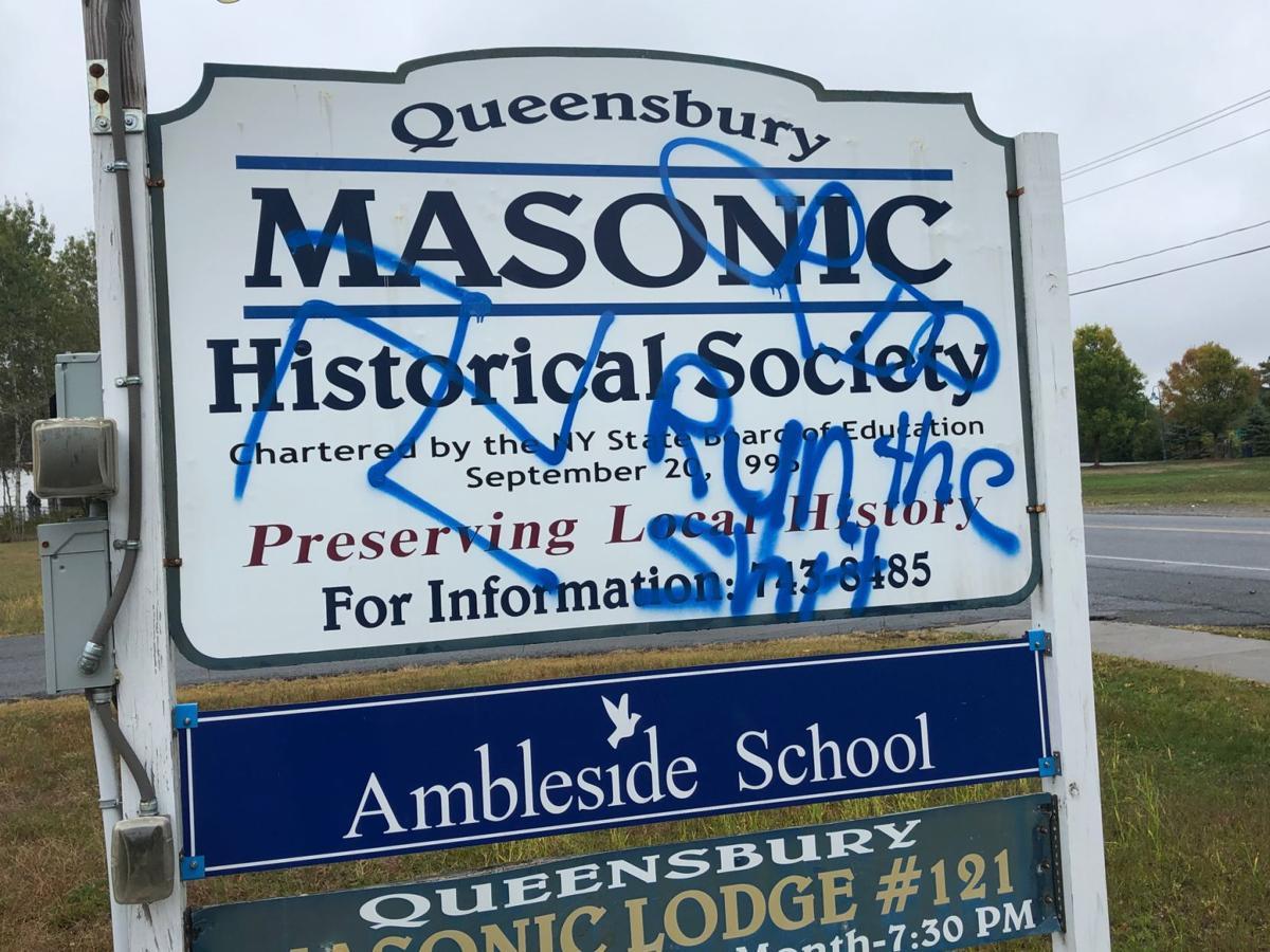 Queensbury graffiti