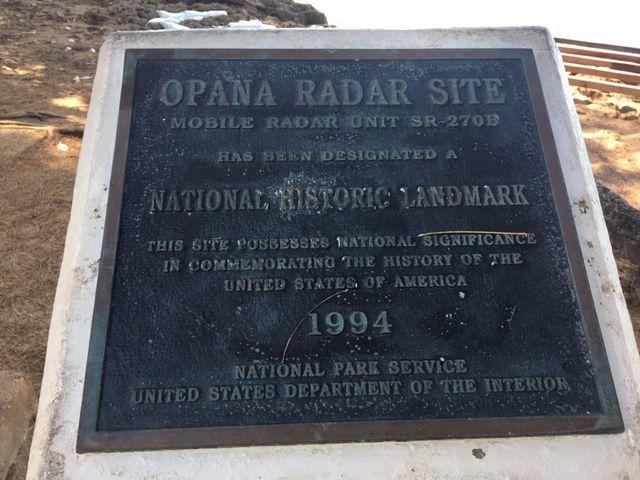 Opana Radar Site