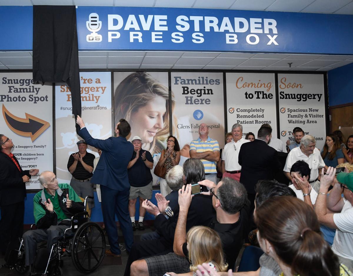 Dave Strader dedication