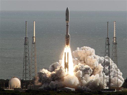 'Go, go!': NASA launches super-size rover to Mars   Local ...