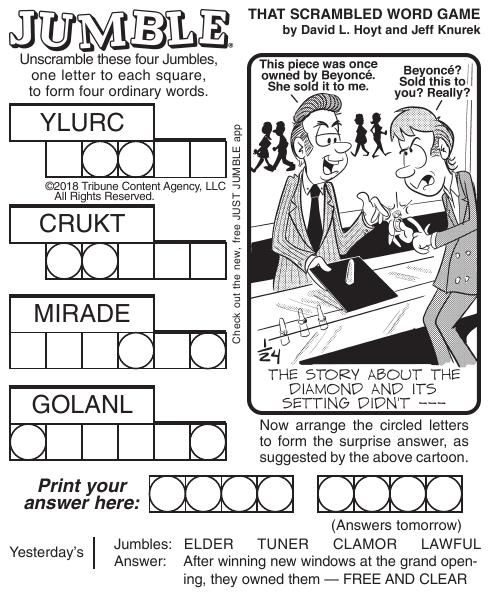 graphic about Printable Jumble Puzzles titled jumble Puzzles-and-comics