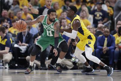b0d2c89c2096 Celtics complete rare sweep by beating Pacers