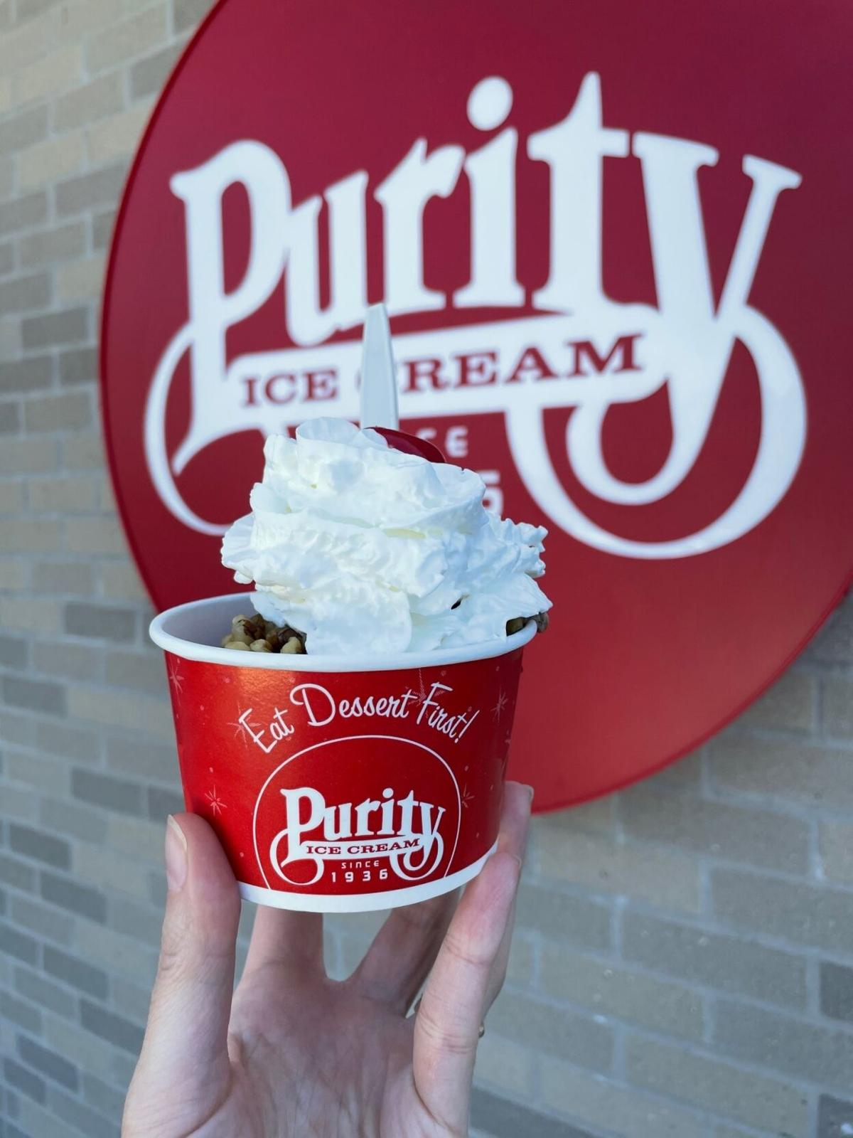 Purity ice cream Bowl in Ithaca