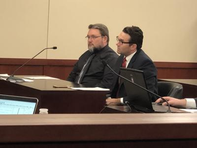Michael Elmore in court