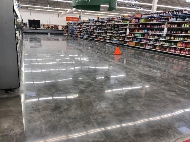Walmart floor