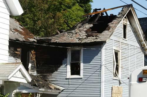 House fire claims man's life