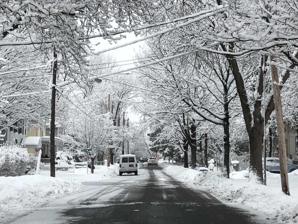 William Street snow