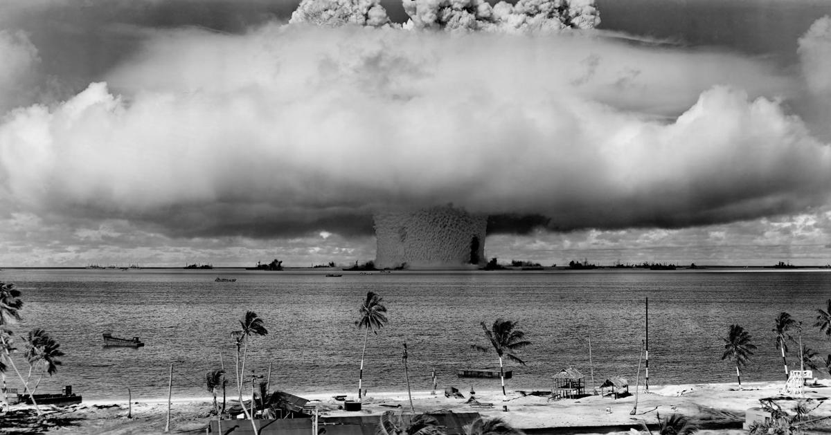 Nuclear bomb test