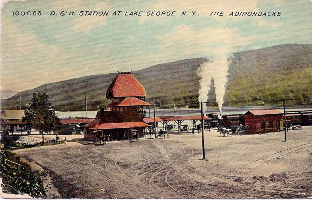 Image result for lake george railroad