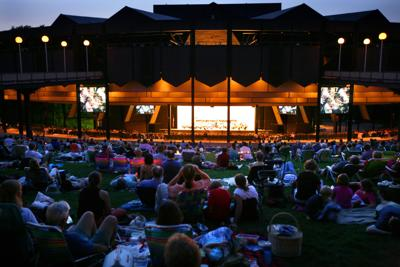 Evening concert at SPAC