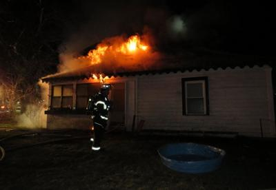 Queensbury fire displaces two