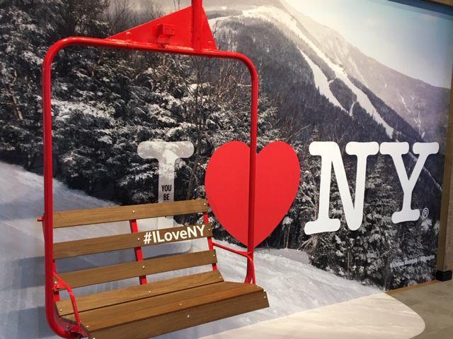 Welcome Center - ski lift